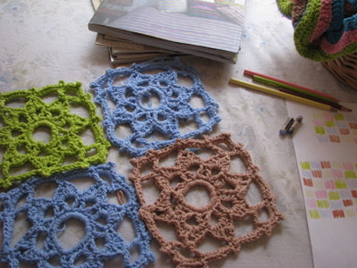 Free Crochet Crystal Tablecloth Pattern